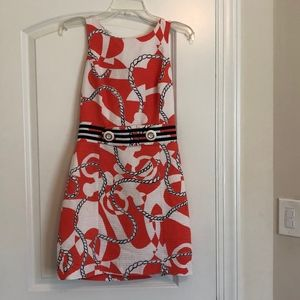 Lilly Pulitzer Nautical Dress Size 2